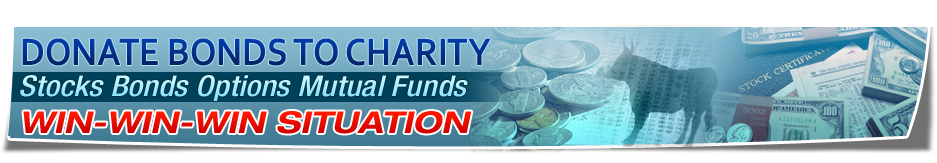 Donate Bonds to Charity