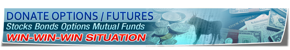 Donate Options Futures